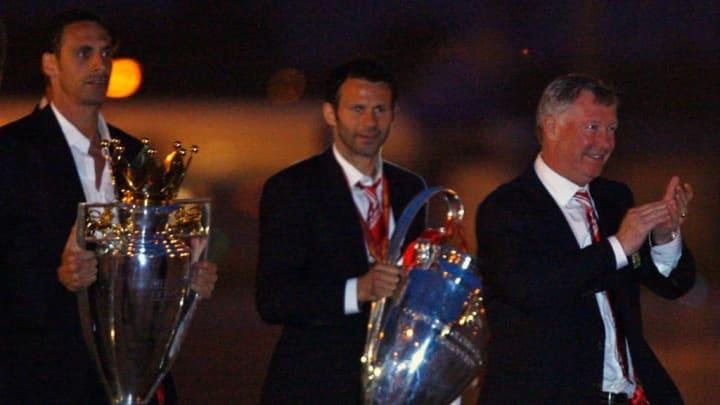 Alex Ferguson, Ryan Giggs, Rio Ferdinand