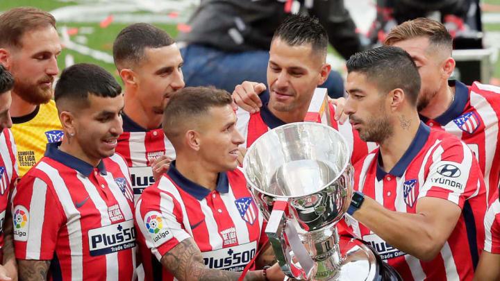 Angel Correa, Jan Oblak, Lucas Torreira, Luis Suarez