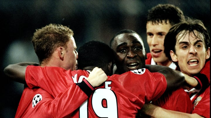 Champs League SF Andy Cole