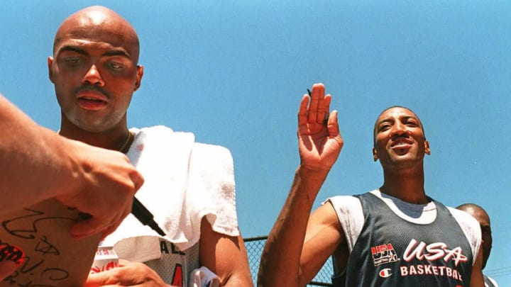 Charles Barkley and Scottie Pippen