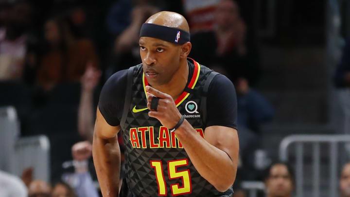 Hot take artist and former basketball player Vince Carter.