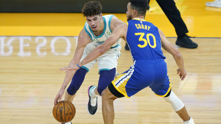 LaMelo Ball vs. Steph