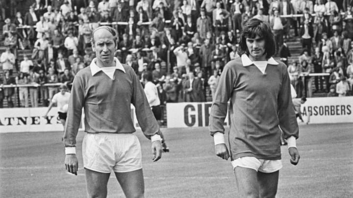 Bobby Charlton & George Best are among the greatest players in history