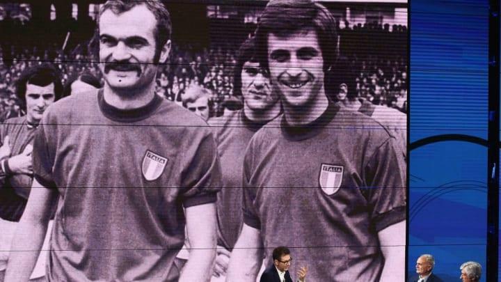 Fabio Fazio, Sandro Mazzola, Gianni Rivera