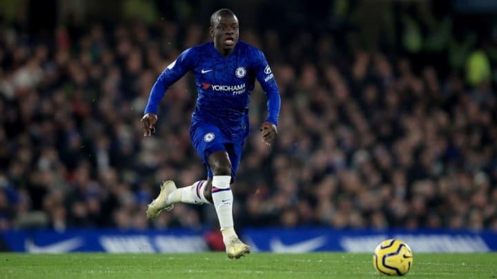 Chelsea FC's N'Golo Kanté.