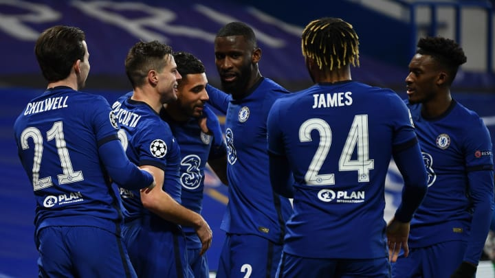 Chelsea progressed to the Champions League last eight