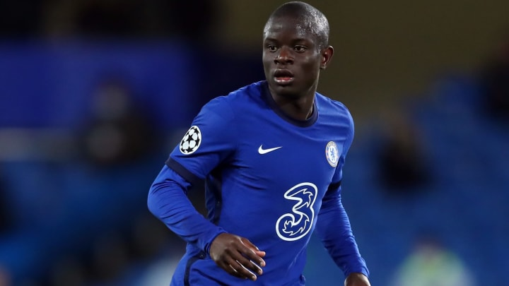 N'Golo Kante is playing out of his skin