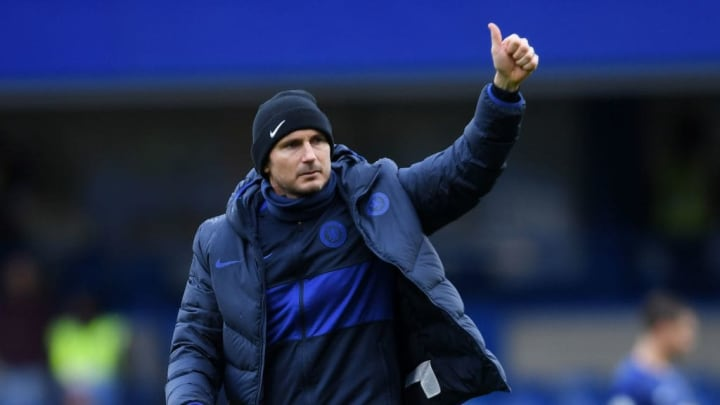 Chelsea FC manager Frank Lampard.