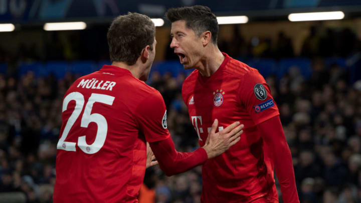 Robert Lewandowski, Thomas Mueller