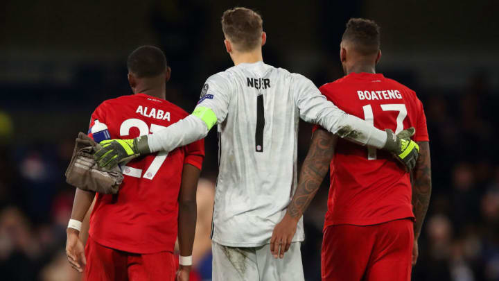 David Alaba, Manuel Neuer, Jerome Boateng
