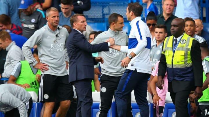 Brendan Rodgers, Frank Lampard