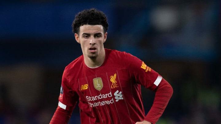 Liverpool FC's Curtis Jones.