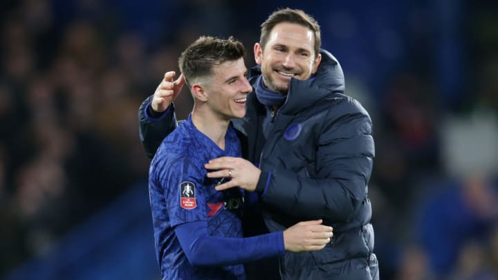 Mason Mount and Frank Lampard are well acquainted after their season at Derby together.