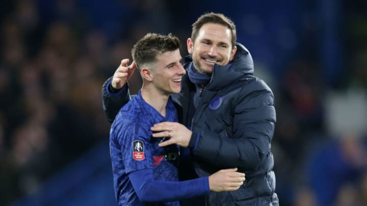 Mason Mount with Frank Lampard