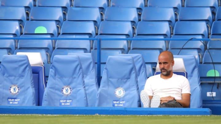 Pep Guardiola surrendered his Premier League crown this evening