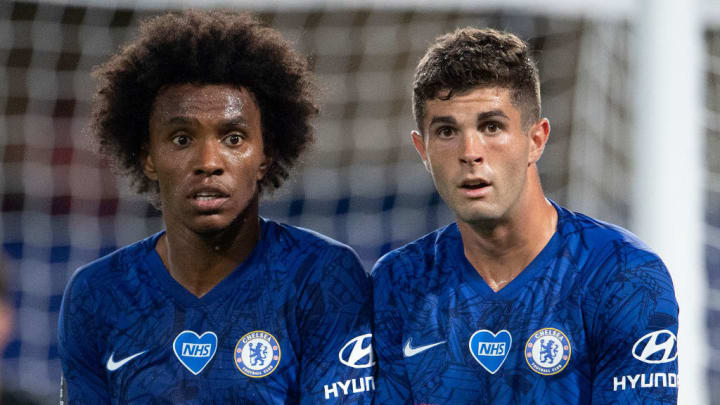 Willian, Christian Pulisic