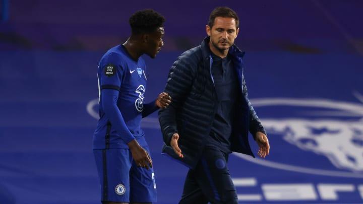 Chelsea Fans Should Trust Frank Lampard's Decision to Bench Callum Hudson- Odoi