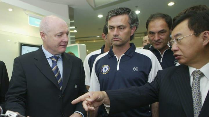 Peter Kenyon, Jose Mourinho, Kim In-Soo