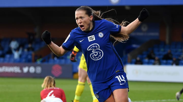 Fran Kirby is 2020/21 WSL player of the season