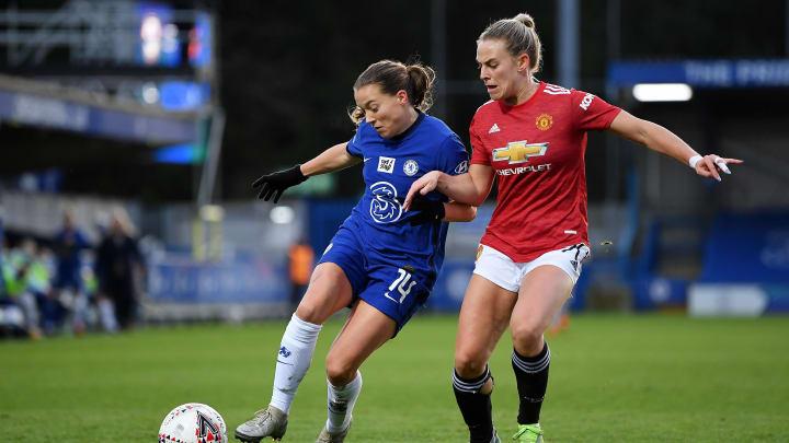 Manchester United e Chelsea são forças no futebol feminino inglês