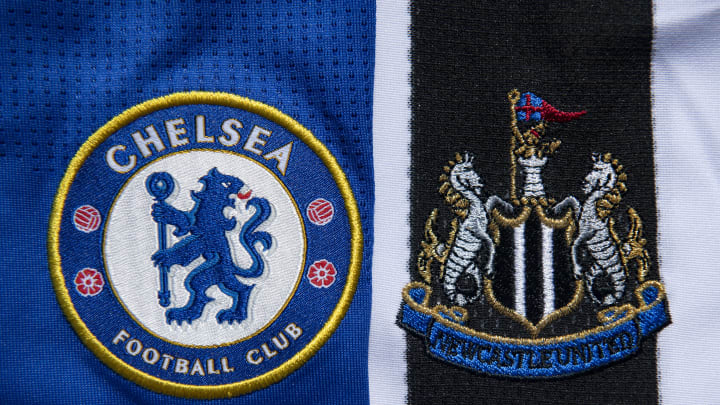Chelsea and Newcastle United Club Crests
