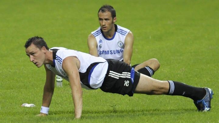 Chelsea football club's captain John Ter