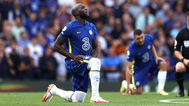 Lukaku joined Marcos Alonso in questioning the effectiveness of taking the knee