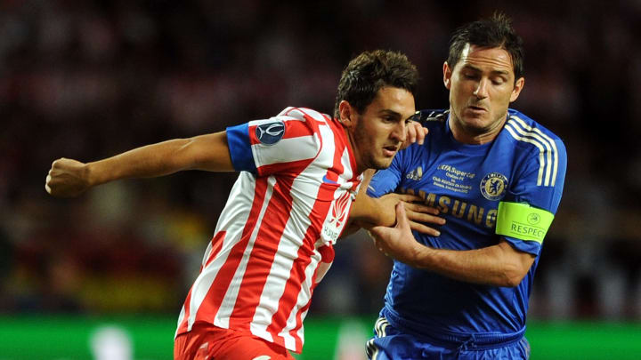 Frank Lampard has featured in five of Chelsea's seven games against Atlético