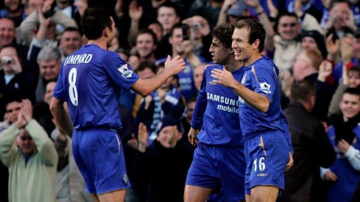 Arjen Robben, Hernan Crespo, Frank Lampard