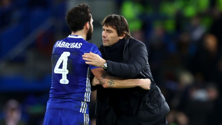 Cesc Fàbregas Sums Up Relationship With Antonio Conte With Hilarious Story