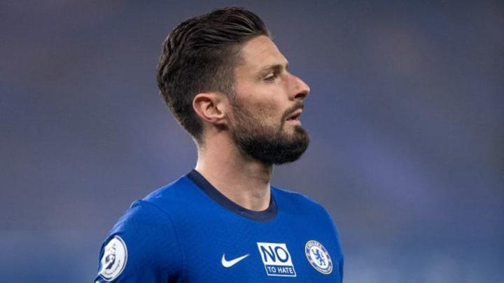 Olivier Giroud est en fin de contrat avec Chelsea en juin.