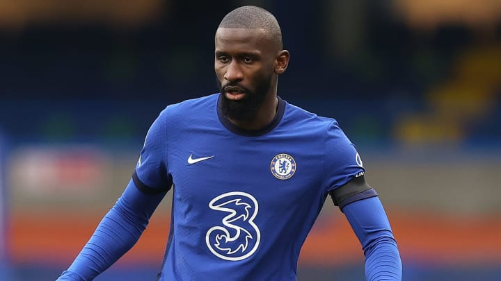 Antonio Rudiger was booted out of Chelsea training