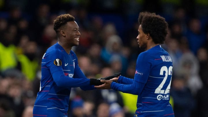 Callum Hudson-Odoi, Willian - Soccer Player for Chelsea and Brazil