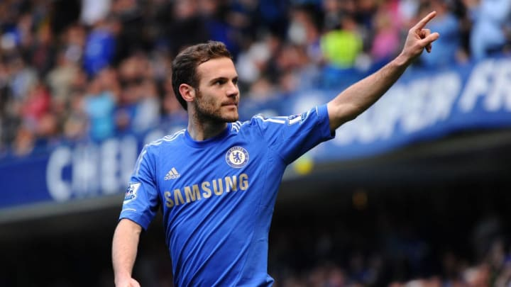 Juan Mata won Chelsea's Player of the Year award in each of his two full seasons at the club