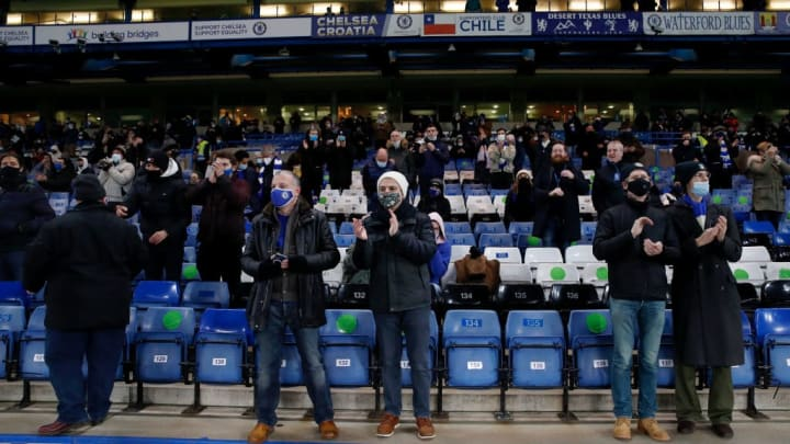 Chelsea fans will be present at Stamford Bridge again