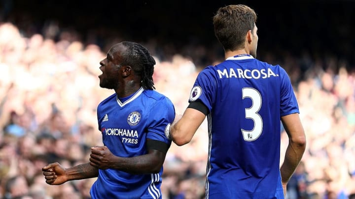 Victor Moses, Marcos Alonso