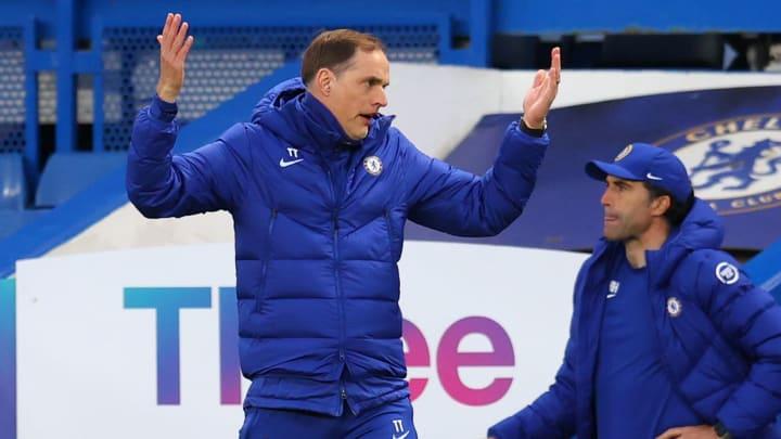 Thomas Tuchel on Chelsea's top four hopes