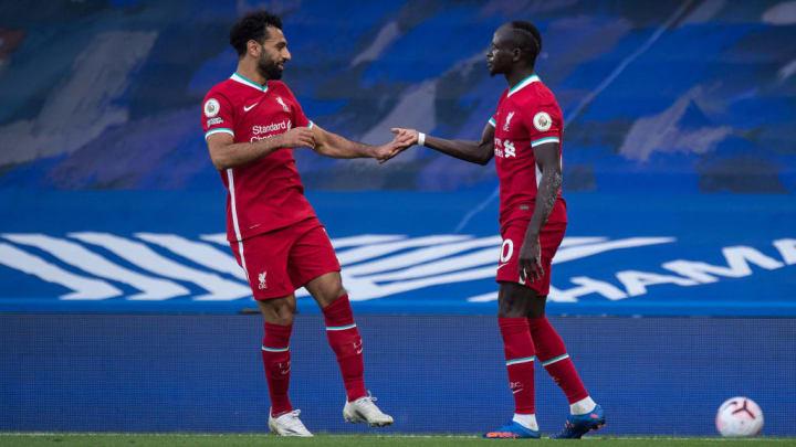 Sadio Mane, Mohamed Salah