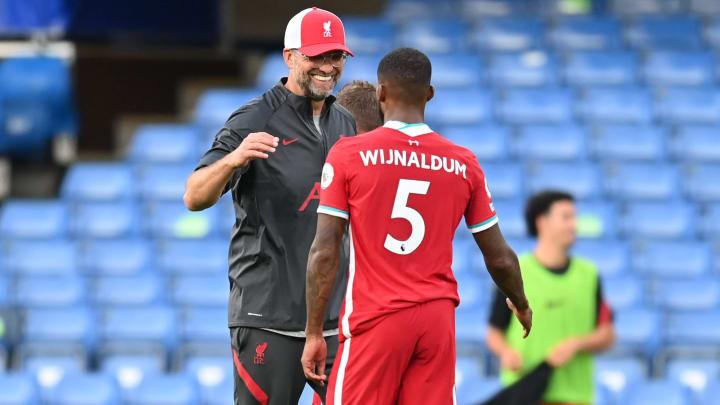 Georginio Wijnaldum's Liverpool contract is winding down