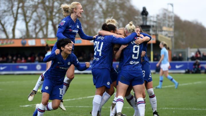 Chelsea have gone 32 WSL games unbeaten