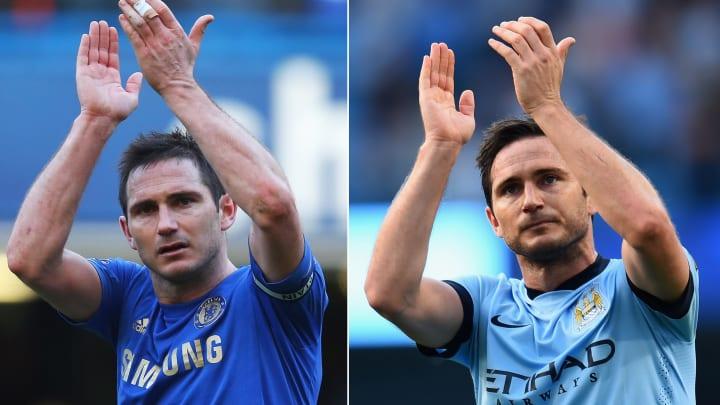 Lampard é um dos casos mais marcantes de atleta que defendeu City e Chelsea