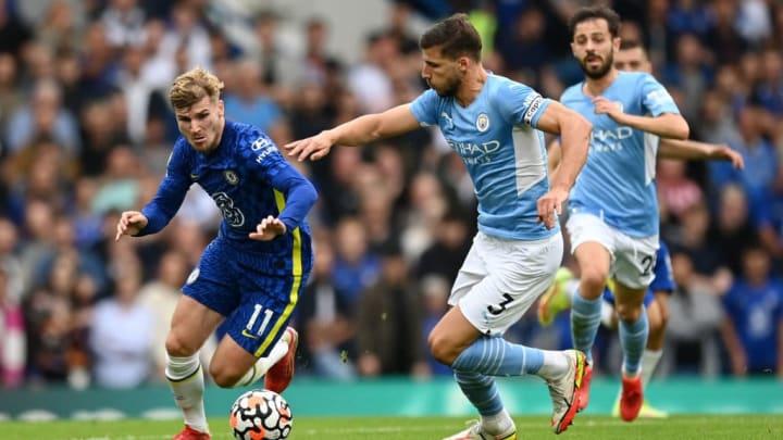 Timo Werner Ruben Dias Premier League Chelsea Manchester City Pep Guardiola