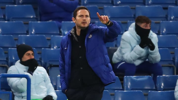 Lampard's job is under pressure according to reports