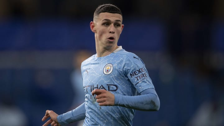 Phil Foden made the most of a rare Premier League start