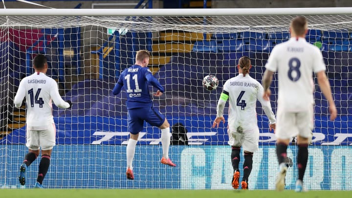 Timo Werner hands Chelsea the lead