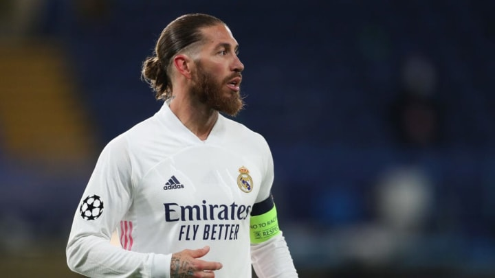 Sergio Ramos Real Madrid Manchester City Champions League