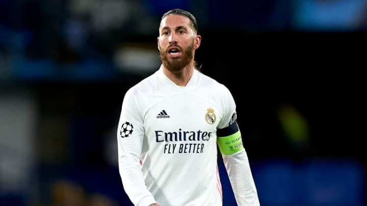 Sergio Ramos Real Madrid Manchester United Premier League