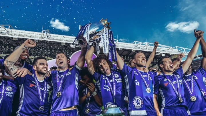 Chelsea were somewhat surprise champions in 2016/17