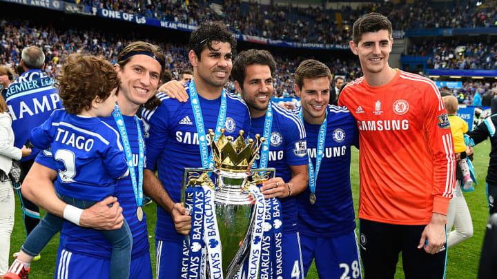 Luis won the Premier League at Chelsea alongside some Atleti alumni