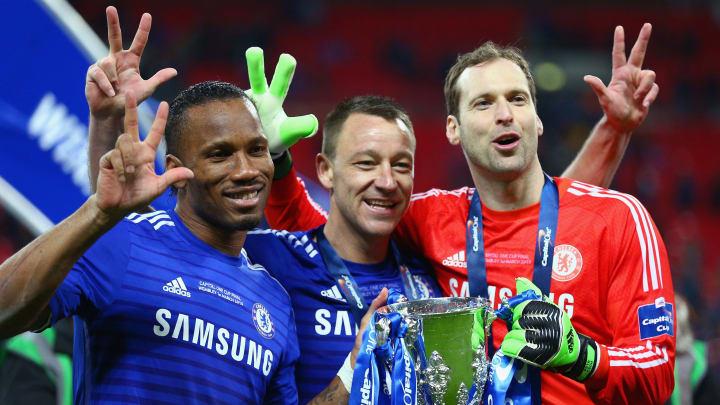 Terry y Cech eligieron al Chelsea por encima del Manchester